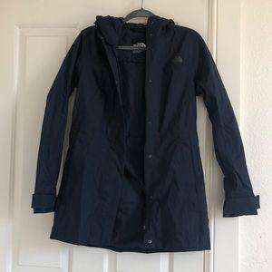 Women's navy blue NorthFace jacket